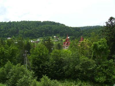 В   Яремче Карпаты Ивано-Франковская область Украина