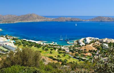 Краски Крита Крит, Море, Греция, Гольф