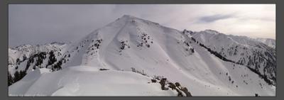 Раскинутся просторы... Тянь-Шань фрирайд небо горы снег