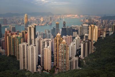 Вечер над Гонконгом гонконг
