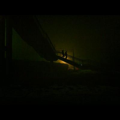 без названия люди лестница ночь