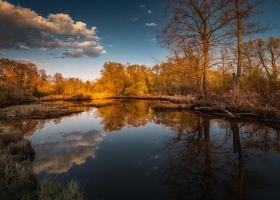 Магия майских закатов озеро горы лес природа закат рассвет красота приключения путешествие облака Урал