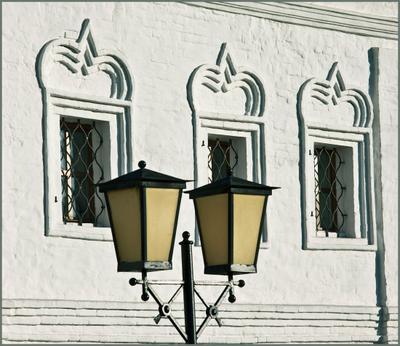 Окна. #2 Коломна, Свято-Троицкий Ново-Голутвин женский монастырь, окна, фонарь