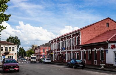 г. Борисов, ул. Комсомольская Борисов город улица