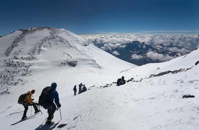 Хрустальный горизонт 2 эльбрус горы вершина альпинисты восхождение