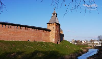 Опора Руси Великий Новгород детинец кремль новгород путешествия Россия Русь