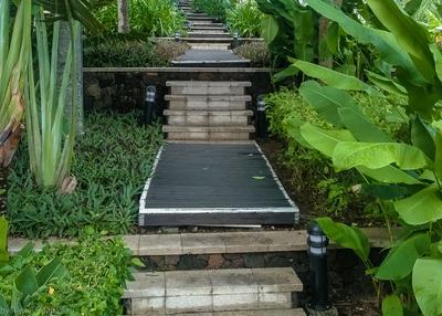 Тропинка Тропинка лестница Китай Хайнань Hilton