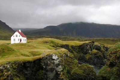 *** дом исландия холмы