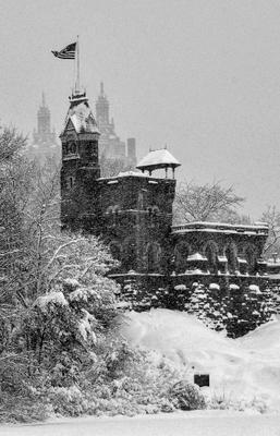 Нью Йорк.Центральный парк. Belvedere Castle. Belvedere Castle