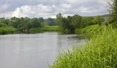 *** река лето Днепр