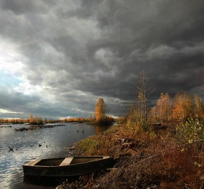 Осенние воспоминания.. Шатура