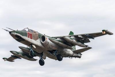 70-ый авиабаза Кубинка Су-25
