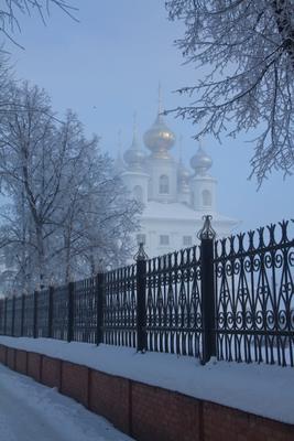 Замерзшая красота