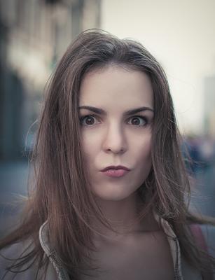 *** портрет девушка