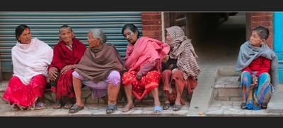 А мы с ней не разговариваем последние 68 лет Непал Катманду Girlfriends