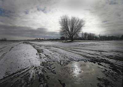 Предчуствие весны. лёд распутица предчуствие