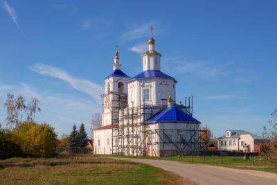 Молотицы. Церковь в честь Успения Пресвятой Богородицы.