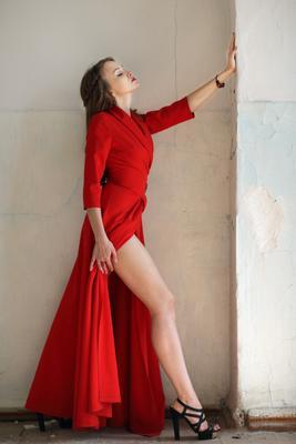 Irene девушка модель портрет платье
