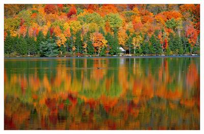 Наша Осень-2 осень, горы, озеро