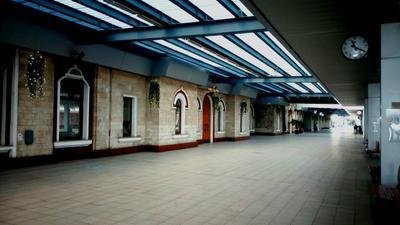 В ожидании поезда... Железнодорожный вокзал КИШИНЁВ