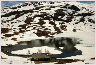 Норвегия В горах