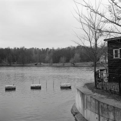 Верхний Кузьминский пруд ( река Чурилиха).