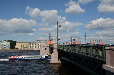 На неве нева мост