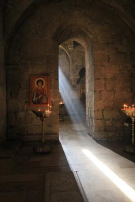 Святой дух Светицховели Светицховели Грузия Святой дух древность Святая простота