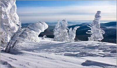 ... и фрирайдер горы шерегеш горная шория зима фрирайд сибирь