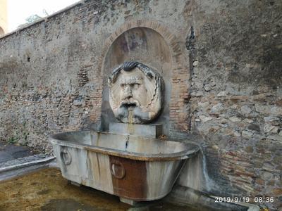 Фонтан. Рим. Городской парк. Рим фонтан парковая архитектура малая архитектурная форма