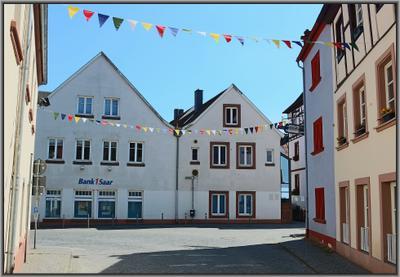 Нечто праздничное Германия саарланд ottweiler