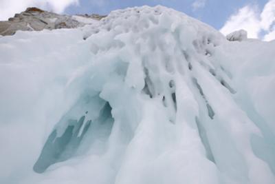 Укушу.. камни лед сосульки