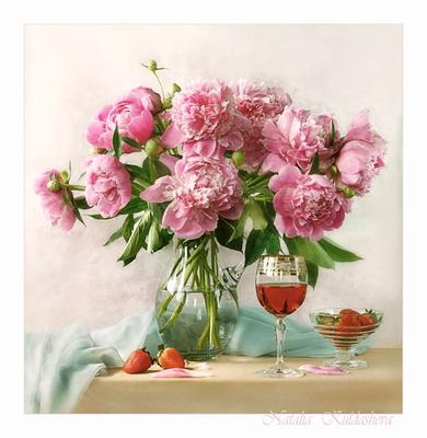 Пионы цветы , пионы , букет