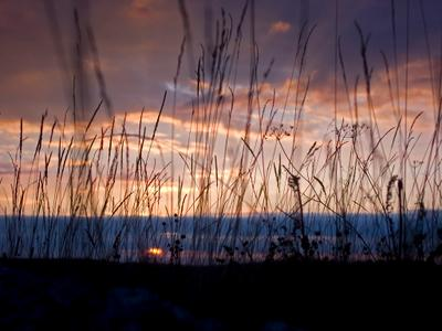 Закат на Караби-Яйле. Крым, горы, Караби-Яйла