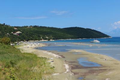 На севере Корфу Корфу