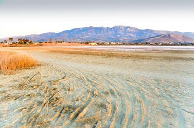 Соленое озеро Алико. Греция, остров Кос.