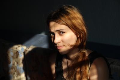 *** портрет тень девушка эмоции