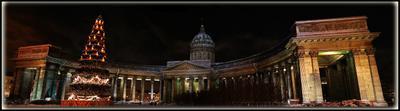 Фотограф был нетрезв Питер, Казанский собор, панорама