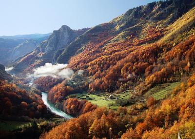 Утро в Черногории