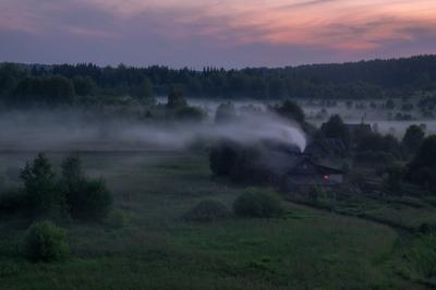 Сумеречная нега июль сумерки село лема вятка