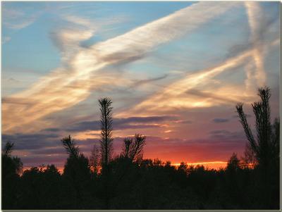 Четыре мгновения осеннего заката