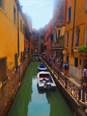 Венецианские каналы Италия венеция каналы