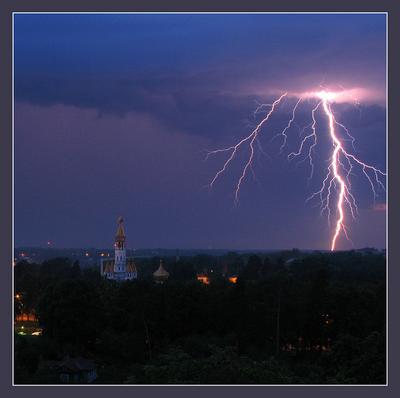 ---***************--- молния, гроза, храм