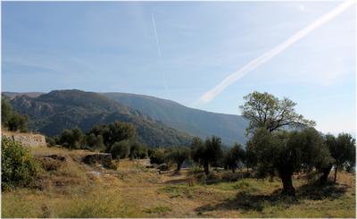 Афонские просторы святая гора Афон Греция просторы