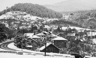 Сараево зимой Сараево