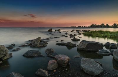 *** Камни  и закат