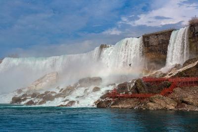 Козья тропа Ниагара США Niagara Falls Goat Island