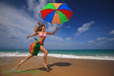 Солнечный зонтик