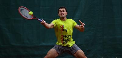 It`s practice time... tennis big TeamRussia Moscow player racket russia ball Alextennis Spartak Karatsev