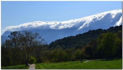 Течет туман... туман горы